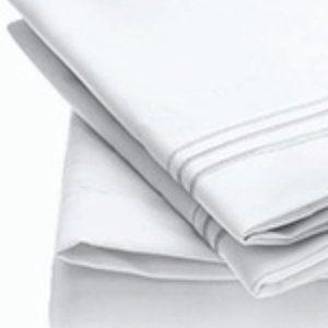 Queen White Microfiber 4 Piece Sheet Set